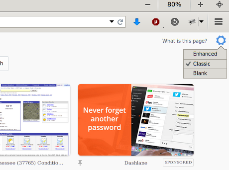 mozilla: advertising you can't turn off